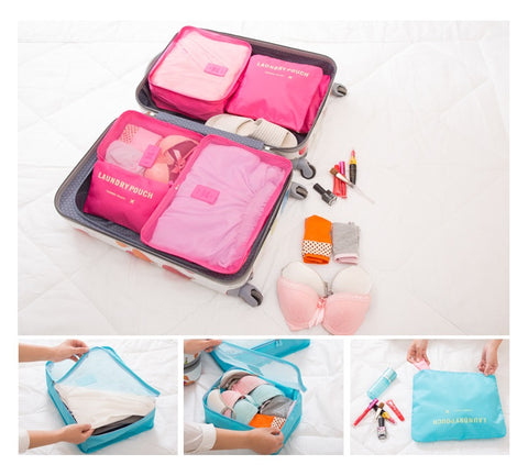 Travel Storage Organizers Laundry Pouch Case