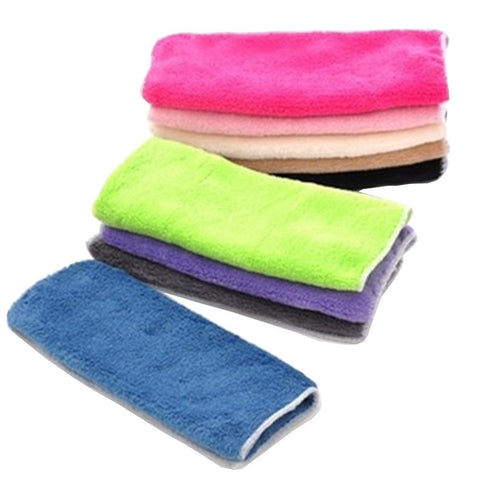 High Efficient Anti-Grease Color Dish Cloth Bamboo Fiber Washing Towel Magic Kitchen Cleaning Wiping Rags