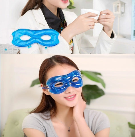 Eye Sleep Mask with Hollow Gel Hot / Cold Pain Relief