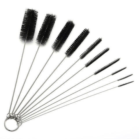 8.2 Inch Nylon Tube Brush Pipe Cleaning Brushes Set of 10