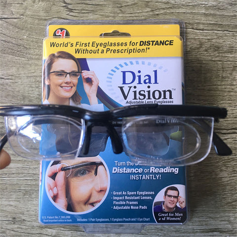 Dial Vision Degree Adjustable Focal Length Eye Glass