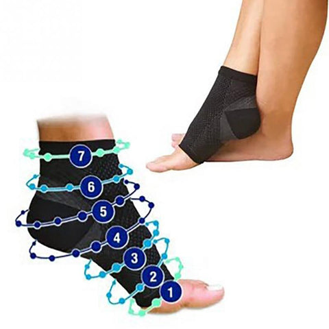Ankle Support Compression Socks Foot Guard Brace