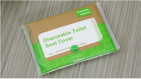 Disposable Toilet Seat Travel Covers Pack of 10