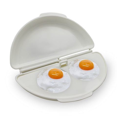 Multifunctional Dual Tray Egg Omelette Microwave Cooker