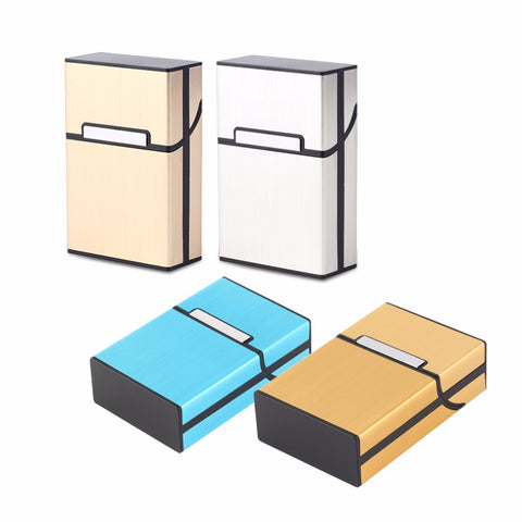 Home Use Light Aluminum Cigarette Case