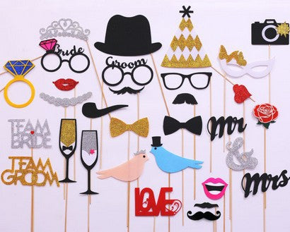 Celebration and Party Photo Booth Props