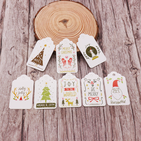 Unique Card Gift Tags with String Decor