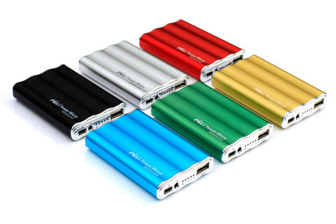 Mini Power Bank Battery Pack Charger for Apple, Blackberry, Nokia Samsung and most USB devices