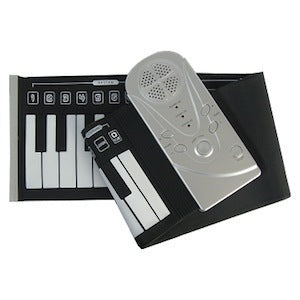 49 Keys Rollin' Piano Rubber Soft Keyboard Piano