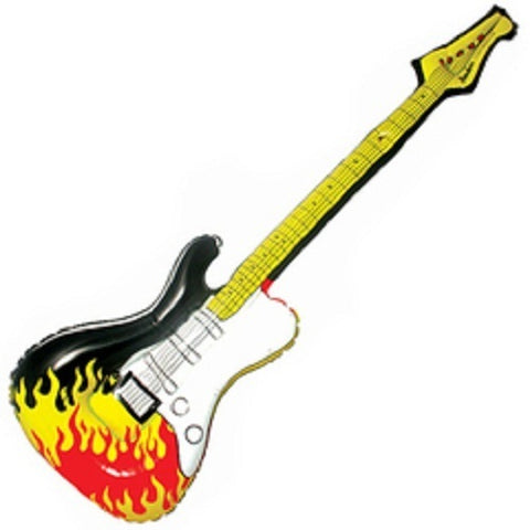 Inflatable Air Guitar with Sound Effect Button
