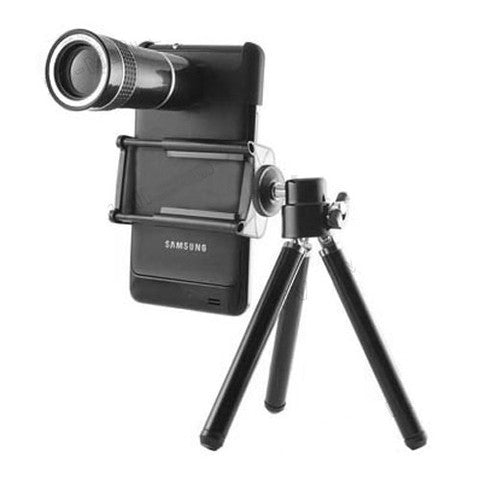 10X Optical Zoom Telescope Lens + Tripod Holder for Samsung Galaxy S2 SII i9100 and Iphone 4 4S