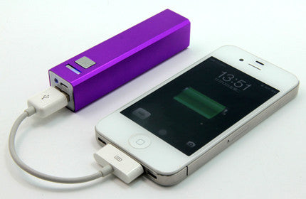Mini Lipstick 2200mAh mobile battery charger
