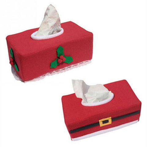 Christmas Tissue Cover Home Decoration Creative Napkin Holder