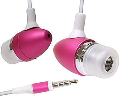 Soft Earphones for Iphone Ipod MP3 Color Headphones Earbuds