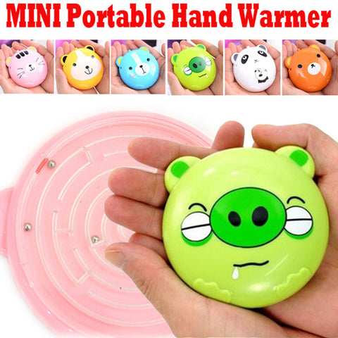 USB Rechargeable Portable Hand Heater Electrical Cartoon Warmer