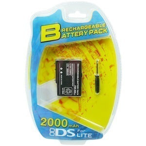 Rechargeable Battery for NDSL Nintendo DS Lite + screwdriver