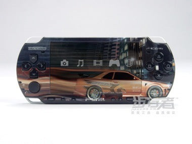 PSP 2000(SLIM) Skin Decals Need for Speed Underground with skins application kit
