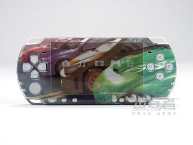 PSP 2000(SLIM) Skin Decals Need for Speed with skins application kit