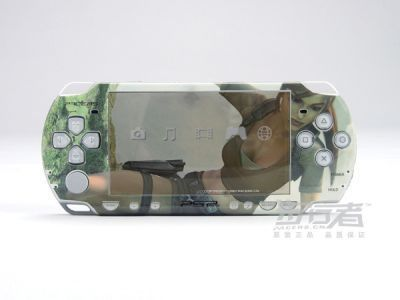 PSP 2000(SLIM) Skin Decals Tomb Raider with skins application kit