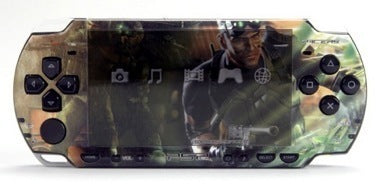 PSP 2000(SLIM) Skin Decals Splinter Cell with skins application kit