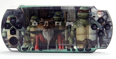 PSP 2000(SLIM) Skin Decals Ninja Turtles with application kit