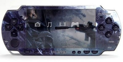 PSP 2000(SLIM) Skin Decals Call of Duty 4 with skins application kit