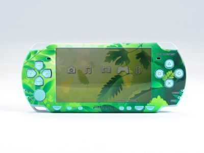 PSP 2000(SLIM) Skin Decals Green Valley with skins application kit
