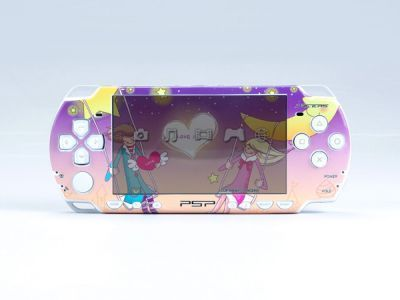 PSP 2000 SLIM Skin Decals Moonlight