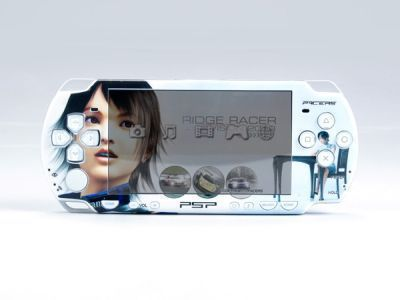 PSP 2000(SLIM) Skin Decals Ridge Racer 2 with skins application kit