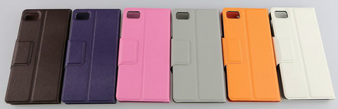 Colourful Protection Flip Pouch Case Cover for Blackberry Z10 BB 10