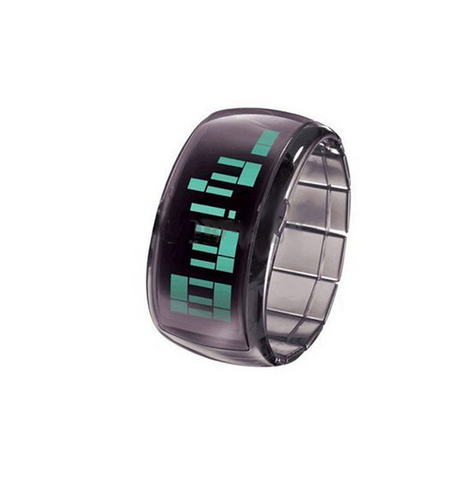 Unisex jelly wrist bracelet LED digital watch