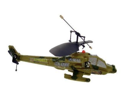 285 Mini Apache Helicopter 2 channel Military Camouflage