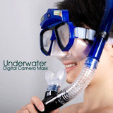 4GB Underwater Digital Snorkel Camera Mask