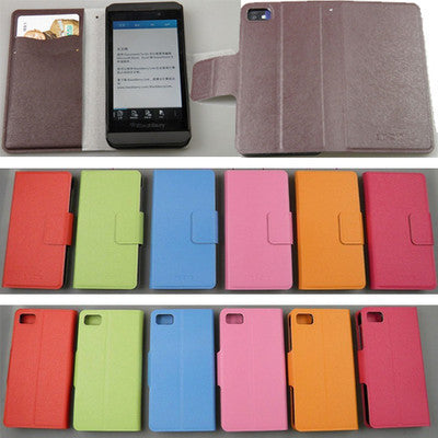 Purse card flip cover case pouch for Blackberry 10 BB Z10