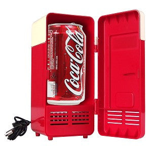 Mini USB Fridge Cooler Can Drinks Refrigerator