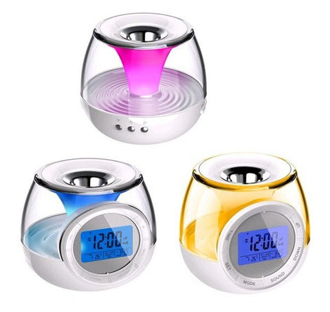 Aroma therapy heater diffuser clock USB / battery powered