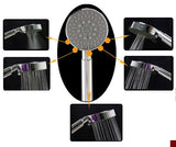 Chrome Massage 5-Spray Combo shower head