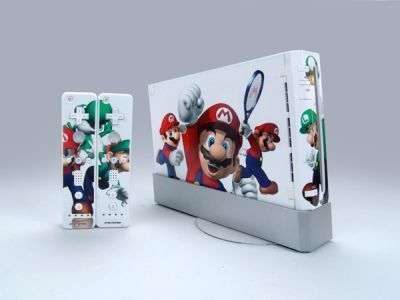 Super Mario 64 Skin Sticker Decal for Nintendo Wii