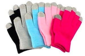 Universal Sensitive Knit Winter Touch Gloves For Capacitive Touch Screen