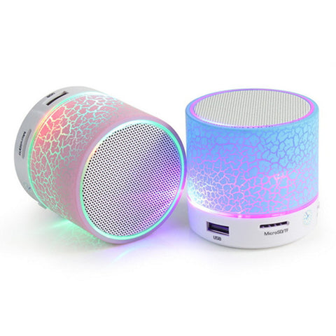 LED Light Wireless Bluetooth Portable speaker