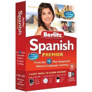 Berlitz Learn Spanish Premier (PC/Mac) (6 CD Set)