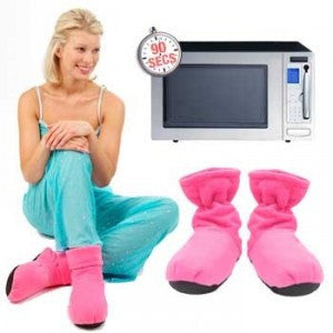 Microwave hot heated boots cozy slippers
