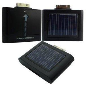 External Backup Battery / Power Station + Solar for iPhone 4G (1400 mAh)