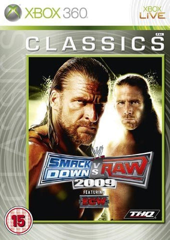 WWE Smackdown vs Raw 2009 - Classics Edition
