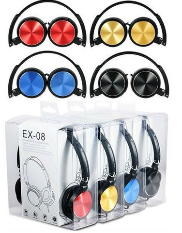 Fashion headset headphones YORO EX-08