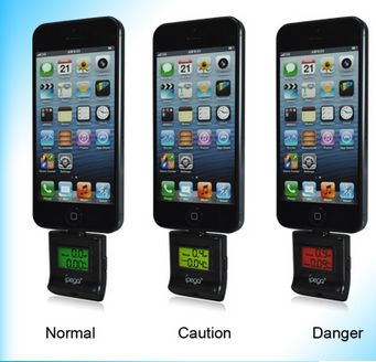 Alcometer alcohol tester for iPhone 5