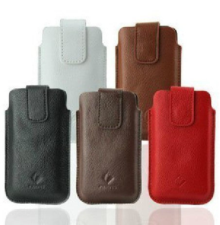 Leather Pouch Case for Blackberry 9320