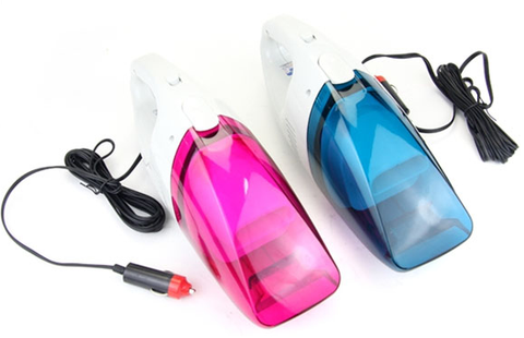 Portable Mini Wet & Dry Car Vacuum Cleaner 12V 60W
