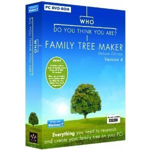 Who Do You Think You Are? Family Tree Maker Deluxe Edition Version 4 PC