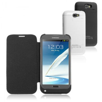 3200 mAh External Charger Battery Case Cover for Samsung Galaxy Note 2 II N7100